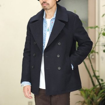 【2017 AW】7 × 7 / seven by seven ( セブン バイ セブン )  Pea Coat  - BLUE -  #SBSF17PCM