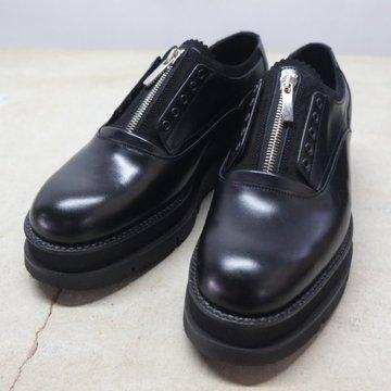 【2017 AW】foot the coacher (フットザコーチャー) GLOXI ZIP SHOES -BLACK- #FTC1634022