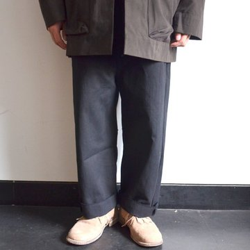 too good(トゥーグッド) / THE SCULPTOR TROUSER DYED CALICO HW -FLINT- #62034990