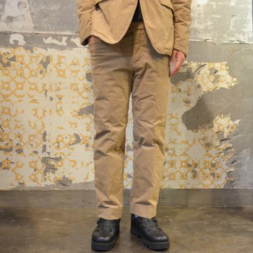 ts(s) (ティーエスエス) Thin Wale Stretch Corduroy Cloth Padded L-pocket Pants -(59)Khaki #ST37IP03