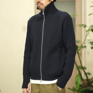 ANDERSEN-ANDERSEN(アンデルセン アンデルセン) THE NAVY - 1/1 ZIP with Pocket -NAVY BLUE- #AA-72103-NVY