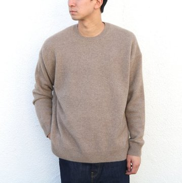 【17 AW】AURALEE(オーラリー)/ BABY CASHMERE KNIT P/O -NATURAL BROWN- #A7AP01BC