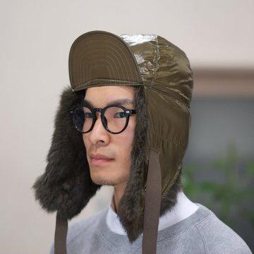 【30% OFF SALE】【2017 AW】TAKAHIRO MIYASHITA The SoloIst.(タカヒロミヤシタ ザ ソロイスト) earmuffs cap -OD- #sa0007AW17