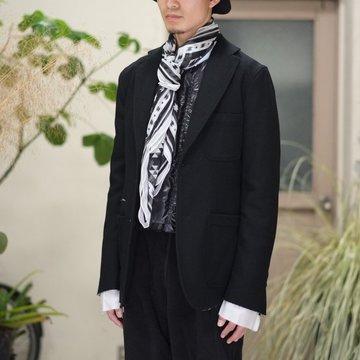 【2017 AW】TAKAHIRO MIYASHITA The SoloIst.(タカヒロミヤシタ ザ ソロイスト) sport jacket. -BLACK- #swj0001AW17