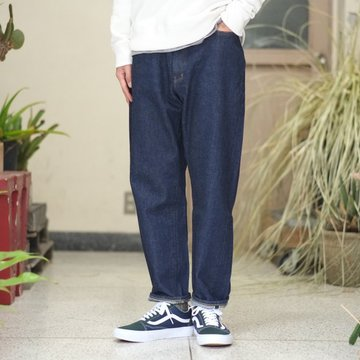 YAECA(ヤエカ) DENIM WIDE TAPERED -INDIGO- #10-13WW
