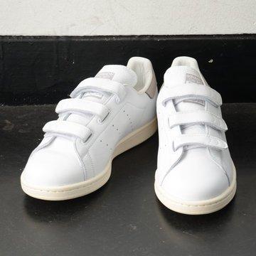 adidas(アディダス)/ Stan Smith Cf -ランニングホワイト/クリアグラナイト/チョークホワイト- #BY9192