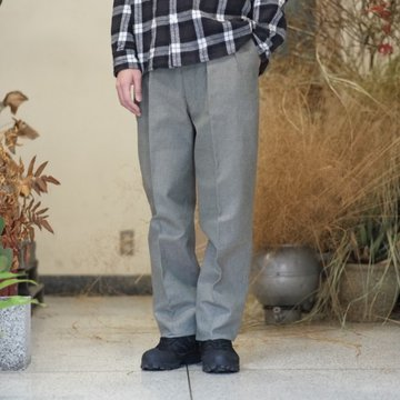 【2018 SS】NEAT(ニート)/ 1960's Swiss Army Denim BELTLESS -KHAKI- #17-02SDB