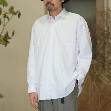【2018 SS】INDIVIDUALIZED SHIRTS(インディビジュアライズドシャツ)/BIG Shirt  -WHITE- IS1812043