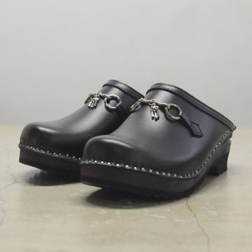 Needles(ニードルズ) × Troentorp(トロエントープ) Swedish Clog Plain toe / Bit -BLACK- #CH330