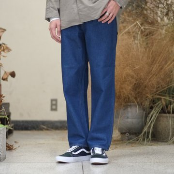 WESTOVERALLS(ウエストオーバーオールズ) 801S STRAIGHT DENIM  -ONE WASH- #17SWPT51A