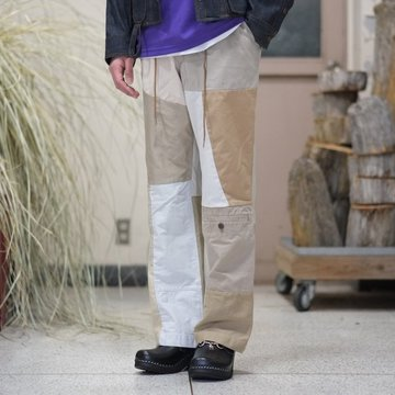 【2018 SS】NEEDLES (ニードルス) Chino Pant -> Military Pant -KHAKI- #CH313