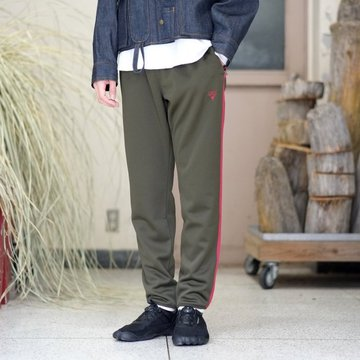 【2018 SS】South2 West8(サウスツーウエストエイト) Trainer Pant [Poly Smooth] -Green-  #CH814