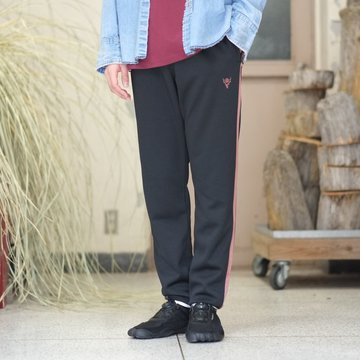 【2018 SS】South2 West8(サウスツーウエストエイト) Trainer Pant [Poly Smooth] -Black-  #CH814