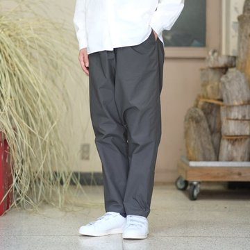 Graphpaper(グラフペーパー) Typewriter Cook Pant -GRAY- #GM181-40082B