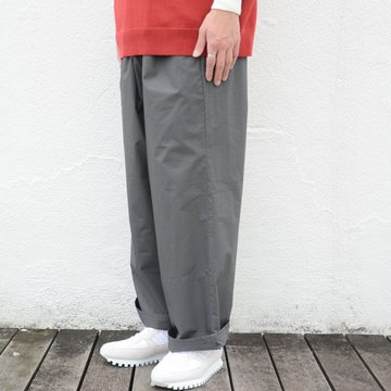 【2018 SS】Graphpaper(グラフペーパー) Typewriter Wide Cook Pant -GRAY- #GM181-40084B