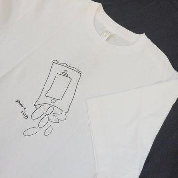 YAECA(ヤエカ) 加賀美健プリントTシャツ -WHITE- #38007