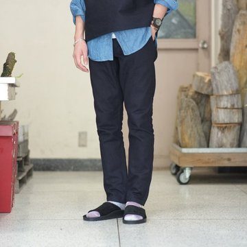 【2018 SS】BROWN by 2-tacs (ブラウンバイツータックス) TAPERED -Indigo- #B19-P001
