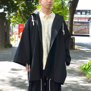 【2018 SS】 too good(トゥーグッド) / THE EXPLORER COAT PLAIN COTTON -COAL- #GBMALSTU1013LON