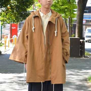 【2018 SS】 too good(トゥーグッド) / THE EXPLORER COAT PLAIN COTTON -BOX BROWN- #GBMALSTU1013LON