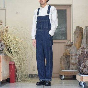 orSlow(オアスロウ)/ 30's OVERALL -(81)denim one wash-