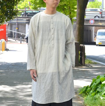 【2018 SS】 too good(トゥーグッド) / THE BAKER SHIRT TICKING STRIPE -COAL- #THEBAKERSHIRT