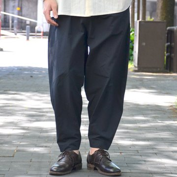 【2018 SS】 too good(トゥーグッド) / THE ACROBAT TROUSER COTTON PERCALE -COAL- #THEACROBAT-1