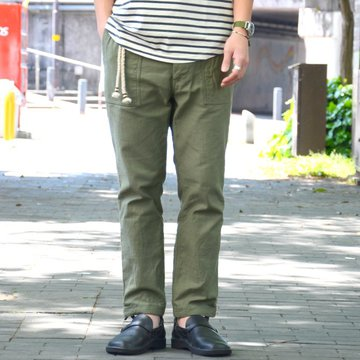ohh!nisica(オオニシカ)/ ベイカーパンツ -OLIVE- #ONI-079