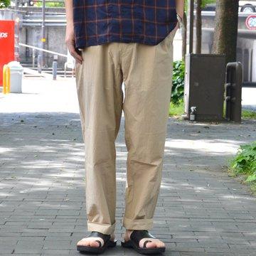【2018 SS】 EEL(イ—ル)/ SUN PANTS -(32)BEIGE- #E-16231