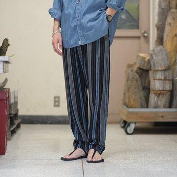 【2018 SS】7 × 7 / seven by seven ( セブン バイ セブン )  GUATEMALA PANTS  - BLACK -  #SBSS18GPT