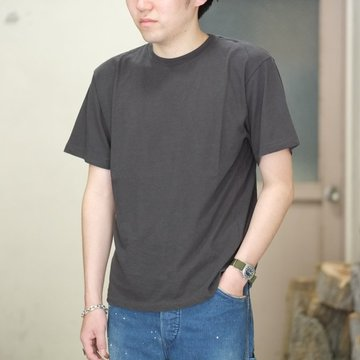 AURALEE(オーラリー)/  TWIST COTTON CASHMERE TEE -INK BLACK- #A8ST02CC