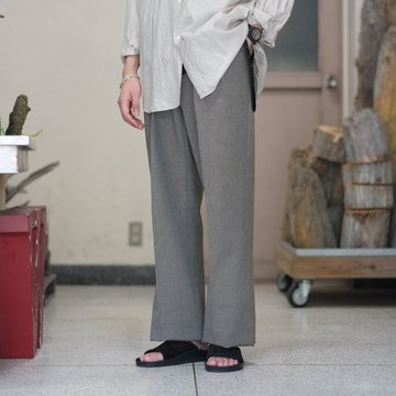 【2018 SS】NEAT(ニート)/ 1960's Swiss Army Denim WIDE -KHAKI- #17-02SDW