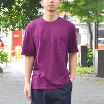 FLISTFIA(フリストフィア) / Relaxed T-shirts -Dark Burgundy- #TR01016