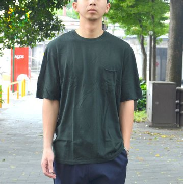 FLISTFIA(フリストフィア) / Relaxed T-shirts -Dark Green- #TR01016