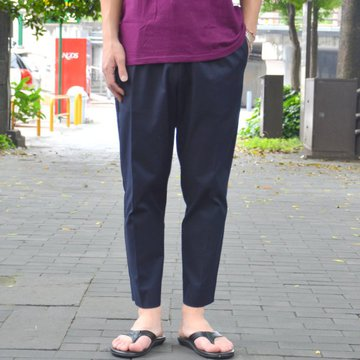 【18 SS】 FLISTFIA(フリストフィア) / Cropped Trousers -Navy- #CP04016