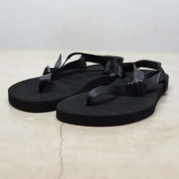foot the coacher(フット ザ コーチャー) BAREFOOT SANDALS【thick sole】 -BLACK-  #FTC1712018