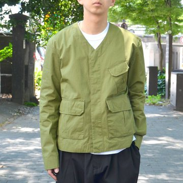 STUDIO NICHOLSON(スタジオニコルソン)/ MUCLUC JACKET -ARMY GREEN- #SN-301