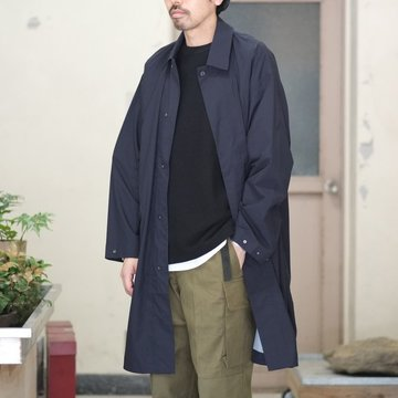 【30% off SALE】【2018 SS】 DESCENTE PAUSE(デサント ポーズ)/ OVER COAT -BLACK- DLULJC30