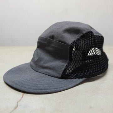 【2018 SS】BROWN by 2-tacs (ブラウンバイツータックス) JET CAP - CHARCOAL- B19-C001