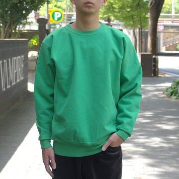 【2018 AW】AURALEE(オーラリー)/ SUPER MIKKED SWEAT P/O -GREEN- #A8AP01SM
