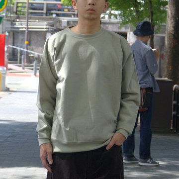 【2018 AW】AURALEE(オーラリー)/ SUPER MIKKED SWEAT P/O -LIGHT KHAKI- #A8AP01SM