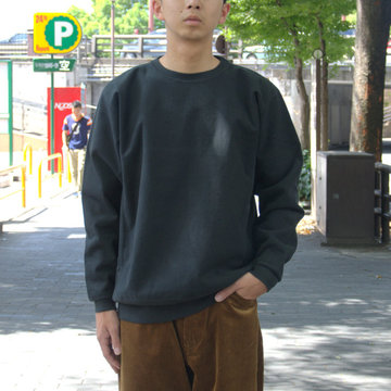 【2018 AW】AURALEE(オーラリー)/ SUPER MIKKED SWEAT P/O -BLACK- #A8AP01SM