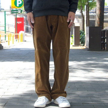 【18 AW】 AURALEE(オーラリー)/ WASHED CORDUROY 5P PANTS -BROWN- #A8AP03FN