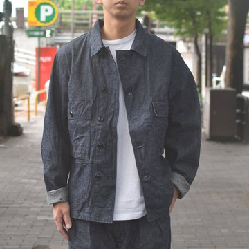 【2018 AW】A VONTADE(ア ボンタージ) Short Fatigue Jacket -INDIGO- #VTD-0366-JK
