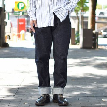 【2018 AW】 TENDER Co.(テンダー) 130 TAPERED -RINSED- #130