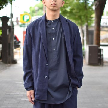 【2018 AW】 tim.(ティム)/ SHIRT JACKET -(35)NAVY- #8303-0003