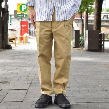 【2018 AW】 MOJITO(モヒート)/ GULF STREAM PANTS Bar.12.1 -(23)BEIGE- #2085-1401