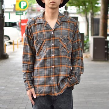 【2018 AW】 MOJITO(モヒート)/ ABSHINTH SHIRT Bar.2.0 -(59)CHECK- #2085-1107