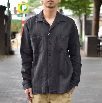 【2018 AW】 MOJITO(モヒート)/ ABSHINTH SHIRT Bar.2.0 -(19)GRAY- #2085-1110