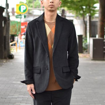 【2018 AW】EEL products(イ—ルプロダクツ)/LIVERPOOL JACKET -(17)BLACK- #E-18160-BK