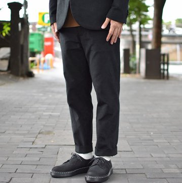 【2018 AW】  EEL products(イ—ルプロダクツ)/ LIVERPOOL PANTS -(17)BLACK- #E-18262-BK